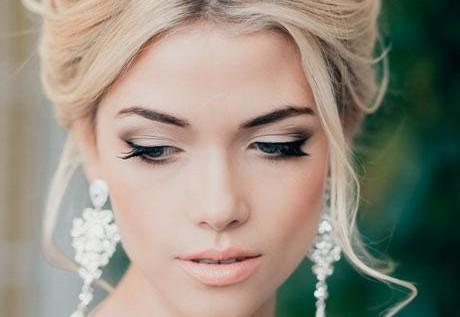 Свадебные прически и макияж для фотосессии