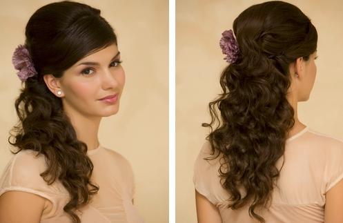 Прическа на выпускной в домашних условиях на длинные волосы
