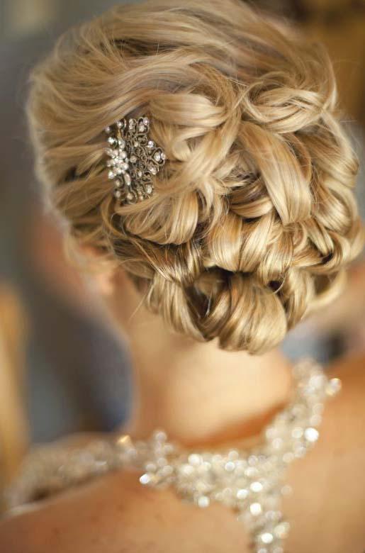 Прически для средних волос для свидетельницы на свадьбу