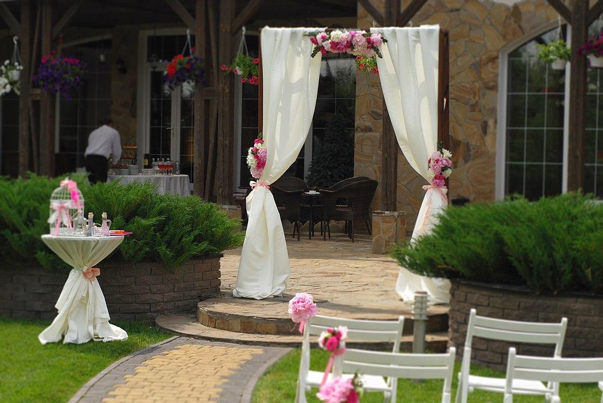 Арки на свадьбу фото