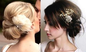 Модные свадебные прически. Тренды 2014-го года