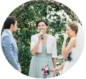 Выездной регистратор на свадьбу в Москве