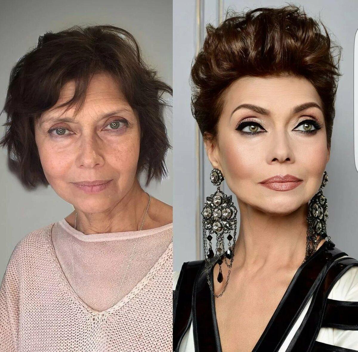 Выбор макияжа и его виды
